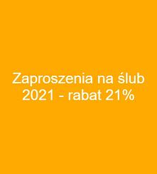 Rabat 21% na wszystkie zapr...
