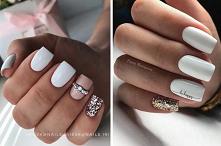 Białe paznokcie, choć kojar...
