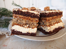 Ciasto kajmakowo orzechowe ...
