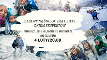 #Darmowy Live na temat zabaw na #śniegu dla dzieci