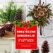 Świąteczne Dekoracje z Szyszek – 24 Inspiracje na DIY Dekoracje na Święta #szyszki #dekoracja
