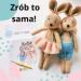 Naucz się ze mną jak krok po kroku zrobić te króliki. Wybierz kurs online wraz z boxem i stwórz wyjątkowy prezent dla kogoś bliskiego ❤️ @nessing_handmade #diy #zrobtosam #sposobnanude #dladziecka
