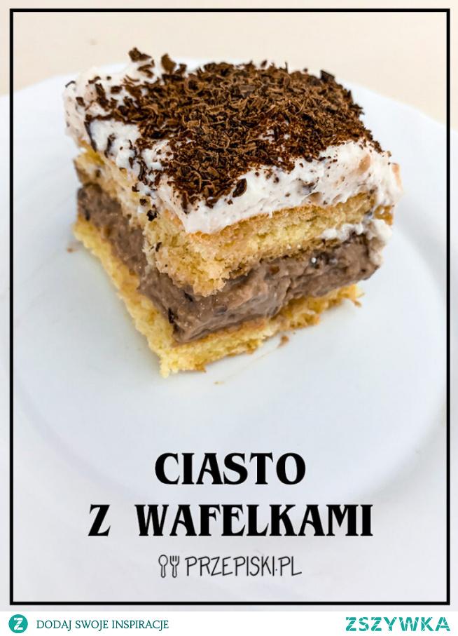 Ciasto z Wafelkami