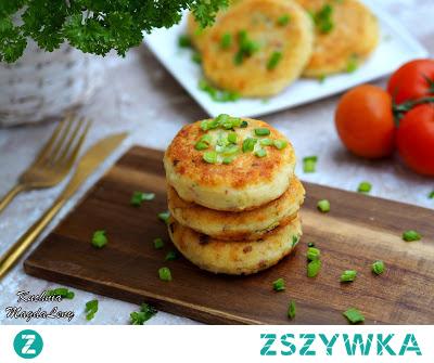 Kotlety ziemniaczane z boczkiem #ziemniaki #obiad