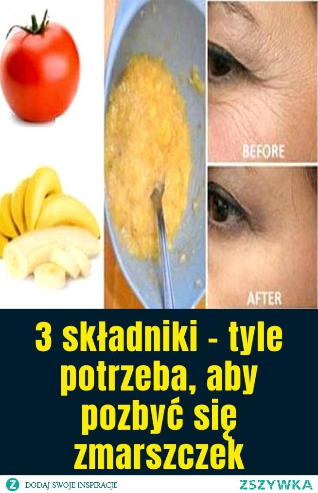 3 składniki – tyle potrzeba, aby pozbyć się zmarszczek