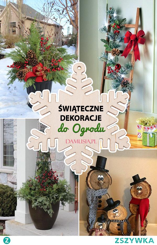 Świąteczne Dekoracje do Ogrodu – TOP 24 Inspiracje na Piękne Ozdoby na Święta