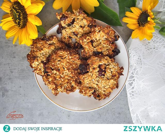 3 składnikowe ciasteczka owsiane