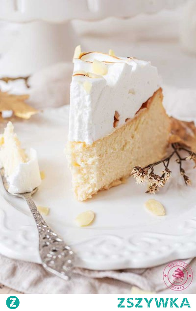 Sernik amaretto z bezą - Najlepsze przepisy   Blog kulinarny - Wypieki Beaty