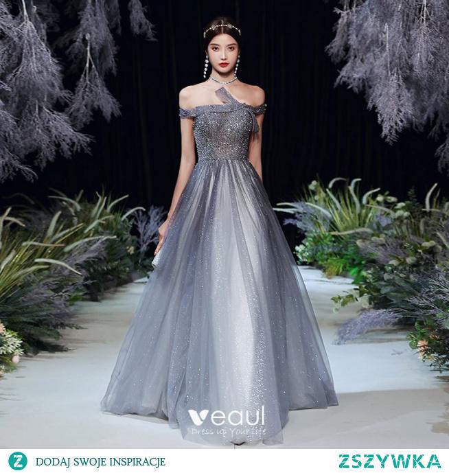 Moda Szary Sukienki Na Bal 2020