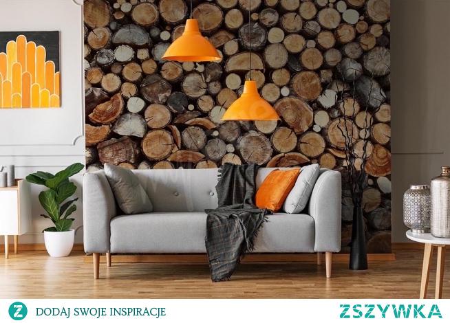 Imitacja drewna na ścianie. Hit wnętrzarski