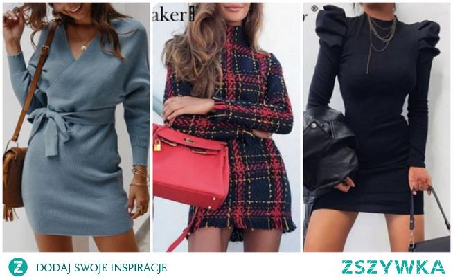 Najpiękniejsze jesienno-zimowe sukienki z Aliexpress!