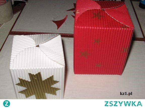 Pudełka na prezenty, które zrobisz samodzielnie.