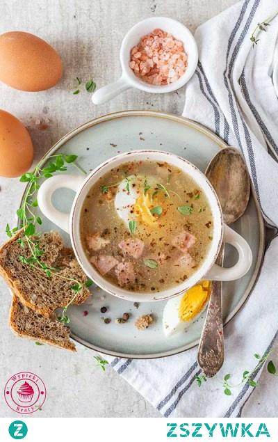 Żurek Beaty - Najlepsze przepisy   Blog kulinarny - Wypieki Beaty