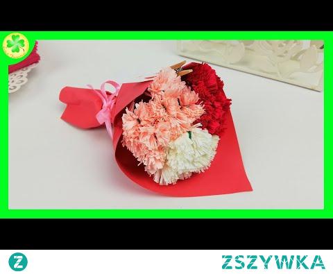 Jak zrobić Bukiet Kwiatów z Bibuły Włoskiej [DIY Tutorial]