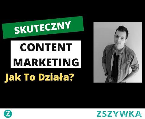 Content Marketing - Zarabiaj Więcej Dzięki Content Marketingowi!
