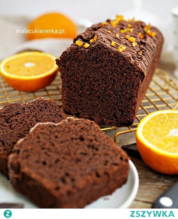 Mega PROSTE Ciasto czekoladowe z pomarańczą. Przepis po kliknięciu w zdjęcie.