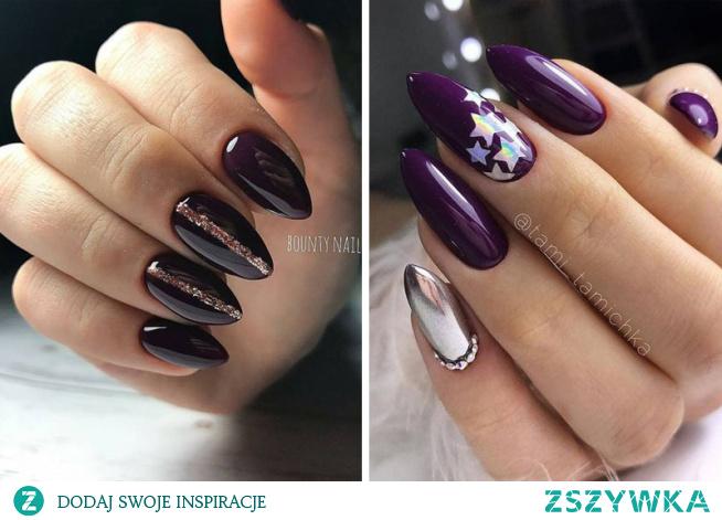 Manicure w ciemnej tonacji to doskonała propozycja na paznokcie które są uniwersalne i eleganckie zarazem! Sprawdźcie 14 wyselekcjonowanych propozycji!