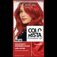 Colorista Permanent Gel to żel do permanentnej koloryzacji zawierający specjalnie dobrane barwniki dla bardzo intensywnego, lśniącego, pełnego wyrazu koloru. Koloryzacja stworzo...
