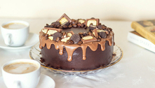 Tort kawowo-czekoladowy z n...