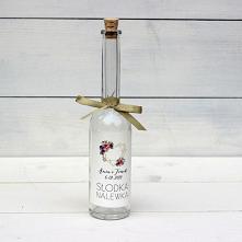 uteleczka na nalewkę, upominki dla gości, butelka na nalewkę, butelki na nalewkę, butelki na ślub, buteleczka na nalewki, buteleczki z korkiem