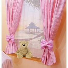 Gdzie kupić urocze zasłony i firany do dziecięcego pokoju? Różowe firanki dla dziewczynki i inne produkty tekstylne znajdziesz w sklepie online Bello24
