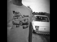 Koszulka Fiat 126p :) Ten projekt po prostu musiał powstać :)