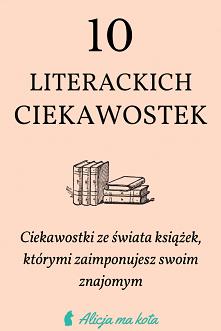 Książkowe ciekawostki [KLIK]
