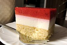 Ciasto truskawkowa kostka t...