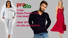 A my świetujemy dzien Panów i Pań w Pradlo.pl na cały asortyment 10% zapraszamy serdecznie