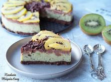 Ciasto kiwi z czekoladą (be...