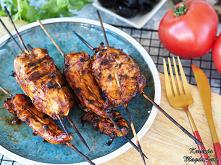 Kurczak w domowym sosie BBQ