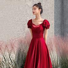 Piękne Czerwone Sukienki Wi...