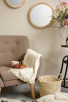 Fotel tapicerowany, kwietni...
