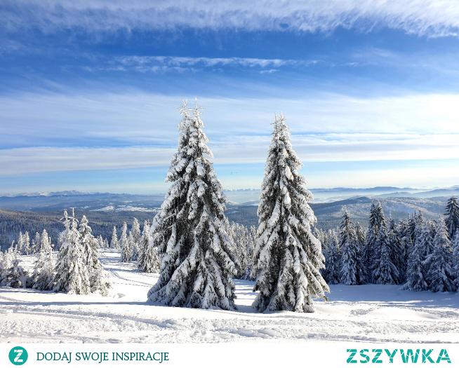 Rysianka... Zimą w górach jest pięknie #gory #zima #rysianka