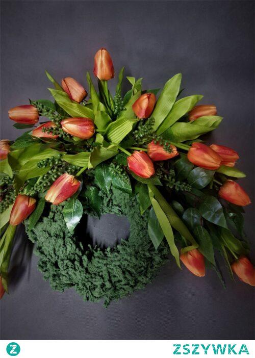 wieniec z tulipanw od totaldeco.pl
