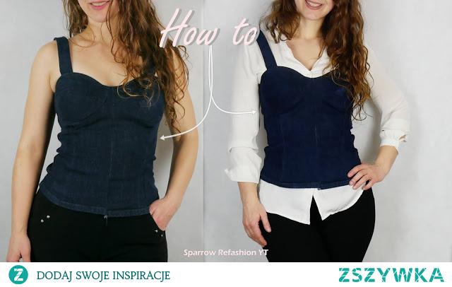 jak uszyć modna bluzkę
