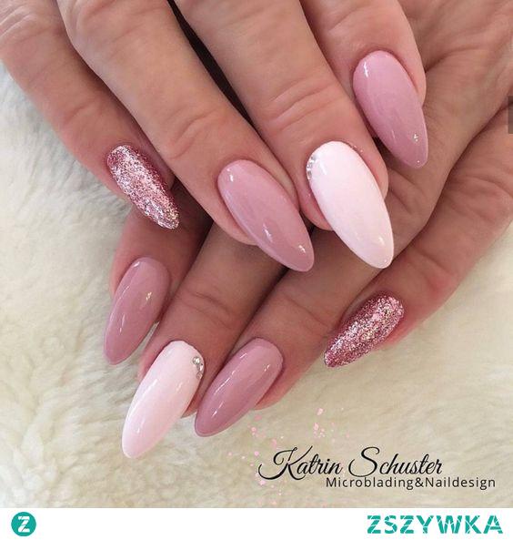 #nails #pink