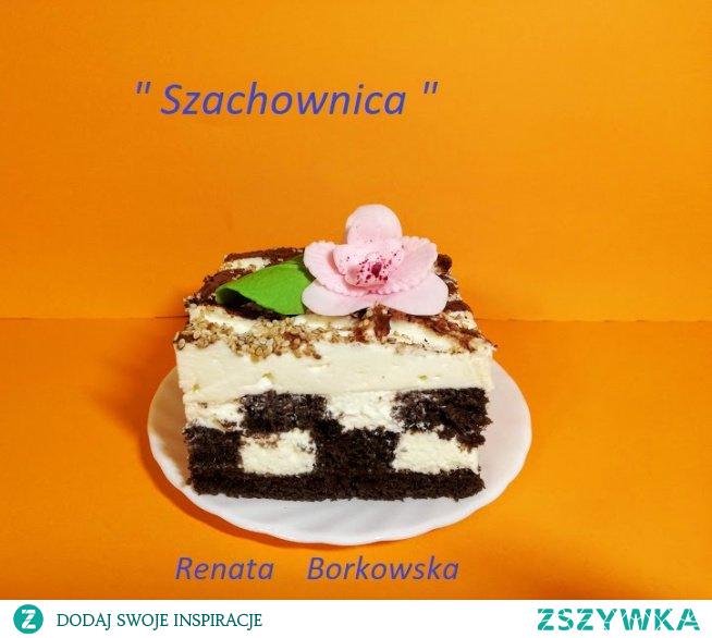"""Ciasto  """"  Szachownica """""""