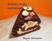 Rolada   czekoladowa  z  ma...