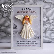 Dzień Mamy - Anioł Stróż w ramce 21x30