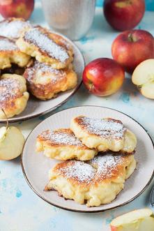 Przepis na racuchy z jabłkami