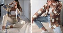 Wiosenne stylizacje z kurtk...