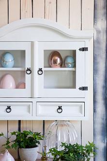 Drewniana biała szafka wisząca do kuchni, drewniana szafka stojąca do kuchni. #Zróbtosam #Wielkanoc #Meble #Dodatki #Beautiful  #szafkakuchenna #Stylizacja #Wiosna #Wystrójwnętr...