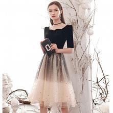Moda Czarne Gradient-Koloró...