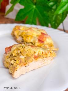 Kurczak Pod Jajeczną Pierzynką