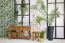 Drewniana konsola, stolik. #Dodatki #Meble #Stylizacja #stolik #glamour #Salon #Wystrójwnętrz #Wnętrze #wiosna #kwiaty #konsola