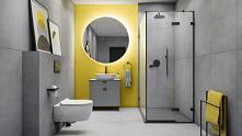 Aranżacja łazienki w kolorach roku Pantone 2021