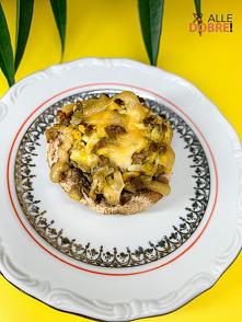 Pieczarki faszerowane jajkiem