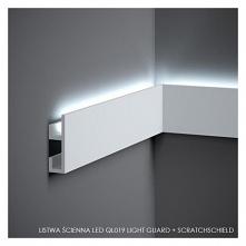 Listwa ścienna Led QL019 Mardom Decor - Light Guard + ScratchShield. Minimalistyczny model QL019 Mardom to listwa nowej technologi nie przepuszczająca światła i twardsza o 24%. ...