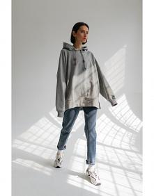 Bluzy oversize - różne kolo...